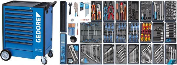 6 Pieces GEDORE 8728 Key File Set
